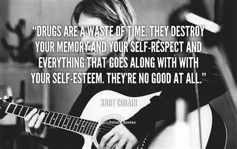 kurt cobain drug quotes quotesgram