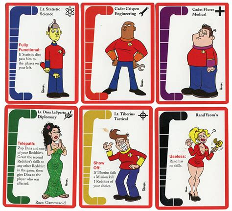 Redshirts Card Game