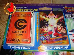 Carddass-dbZ: News & Colis / Dragon Ball Heroes, Carddass ...