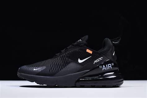 Virgil Abloh's Off-white X Nike Air Max 270 Black/white