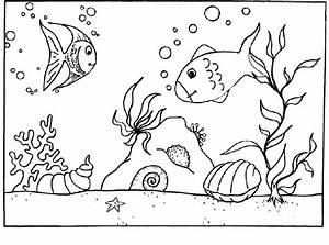 Comment Dessiner La Mer : 79 dessins de coloriage poisson d 39 avril tfou imprimer ~ Dallasstarsshop.com Idées de Décoration