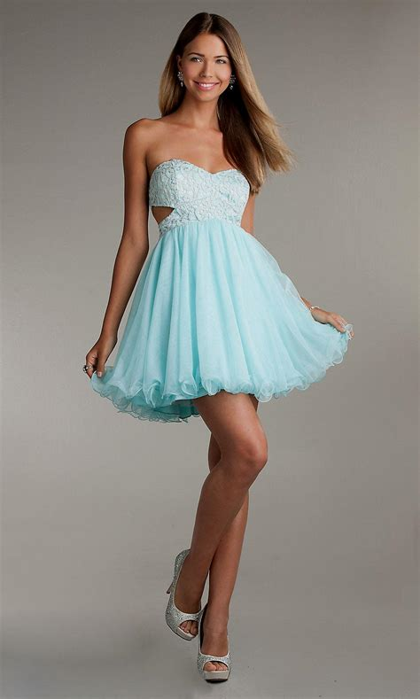 Short light blue dresses Naf Dresses
