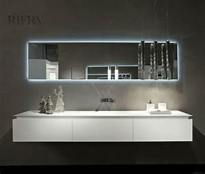 grand miroir design 25 idees pour votre interieur With grand miroir salle de bain rectangulaire