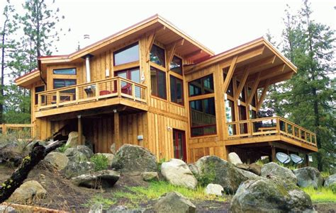 Post Modern House Plans by Modern Post And Beam House Plans Unique Pan Abode Cedar