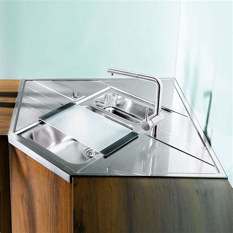 blanco stainless steel sink cleaner blanco axis 9e m stainless steel kitchen sink module
