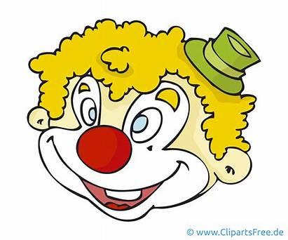 Clown Clipart Cartoon Bild Karneval Grafik Kostenlos