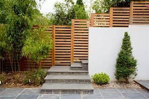 Moderne Gartengestaltung Mit Holz : 28 interessante sichtschutz ideen f r garten ~ Eleganceandgraceweddings.com Haus und Dekorationen