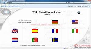 Wds Bmw Wiring Diagram System Model Selection