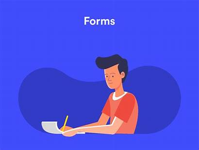 Dribbble Forms