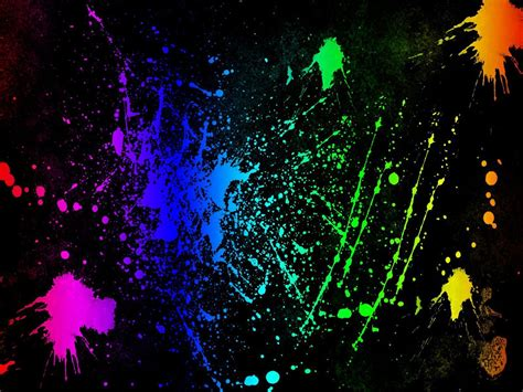 colores neon neon colors rock images splatter hd wallpaper and