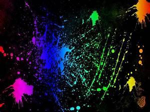 Neon Colors Rock images Splatter HD wallpaper and ...