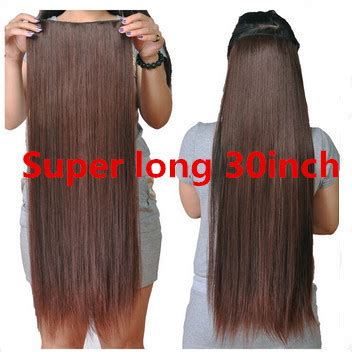 30 Inches Long Straight Hair Extension iLoveJMC