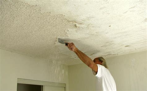remove popcorn ceilings ceiling treatments 171 remodeling for geeks