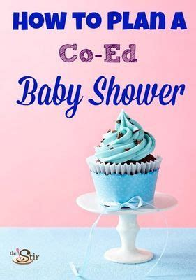 how to plan a baby shower how to plan a co ed baby shower this is actually really