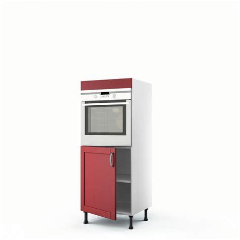 colonne cuisine leroy merlin meuble de cuisine demi colonne four 1 porte rubis h 140 x l 60 x p 56 cm leroy merlin