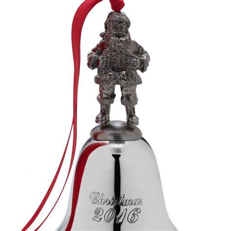 wallace christmas ornaments wallace santa bell 2016 ornament