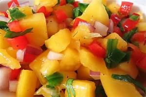 Summer Recipe Quick Mango Salsa FoodndFun