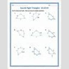 Special Right Triangles 454590 Practice Worksheet By Dr Pepper Lover