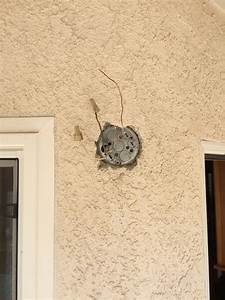 Electrical how to convert this outdoor lamp box gfci