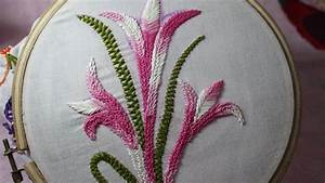 Hand Embroidery Designs | Basic embroidery stitches # Part ...