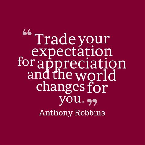 picture anthony robbins quote  appreciation