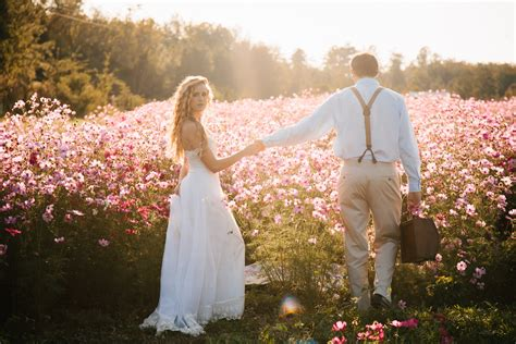 a fairytale flower field wedding enamor 233 weddings