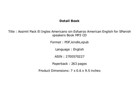 reade book library assimil pack el ingles americano sin