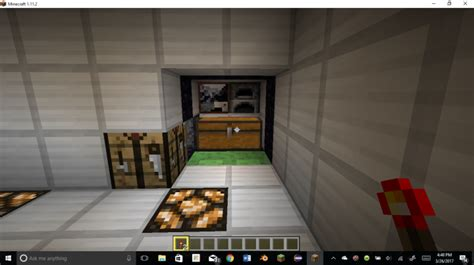 Transforming Redstone Room Minecraft Project