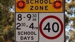 Slow down in school zones | Southern Highland News