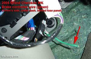 2008 Jeep Grand Cherokee Trailer Wiring