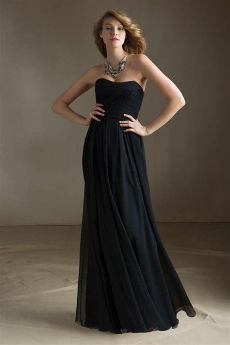 Empire A-line Strapless Chiffon Bridesmaid Dress JSMB0004 ...