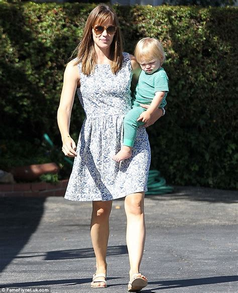 Jennifer Garner spends quality time with baby son Samuel