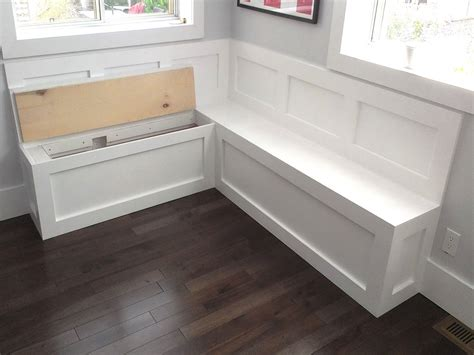 built in kitchen bench and table seating with storage built in benches for kitchen table