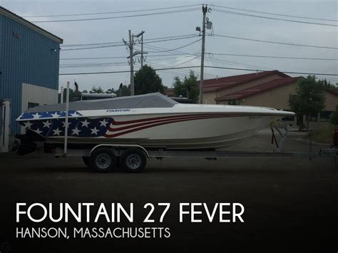 Hanson Boats For Sale by For Sale Used 2002 27 Fever In Hanson