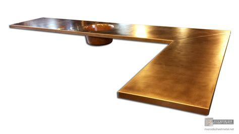 Copper Counter Tops / Table Tops   Kitchen, Island, Bars