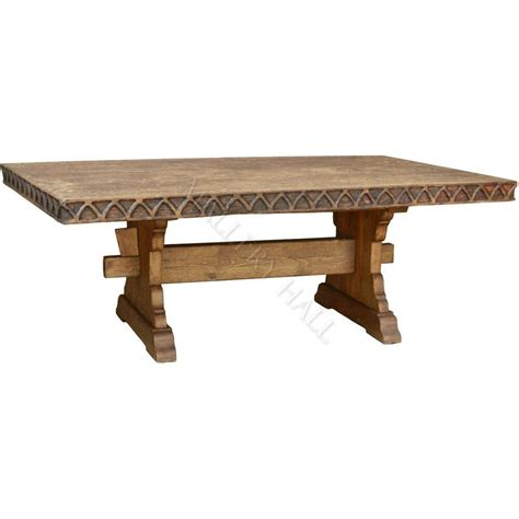 Trestle Dining Table by Trestle Dining Table On Shoppinder