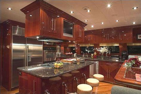 boat kitchen design mega luxury yachts kitchen interiors cook s 1752