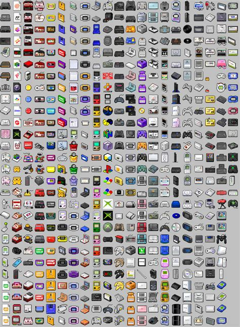 5 Game Console Icons Images All Game Console Timeline