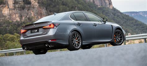 lexus gsf pricing  specifications  caradvice