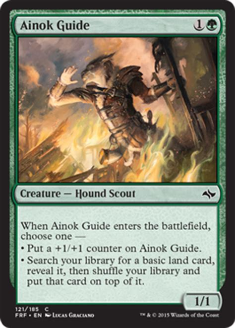 Mtg Deck Tips by Ainok Guide From Fate Reforged Spoiler