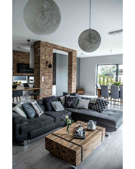 modern industrial living room ideas modern industrial living room coma frique studio Modern Industrial Living Room Ideas