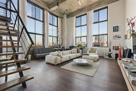 Chic Loft by Industrial Chic Williamsburg Loft In A Converted Factory