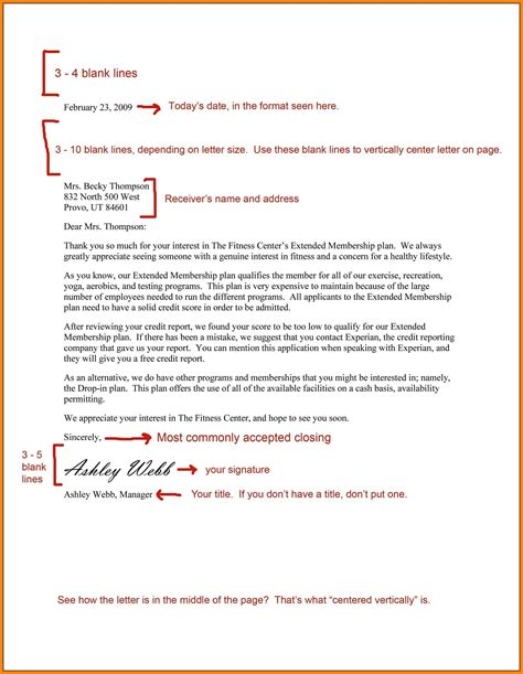 cover letter spacing format    purdue owl