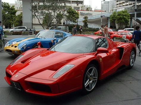 It is currently one of the most powerful naturally aspirated production cars in the world. Ferrari Enzo 2002-2004