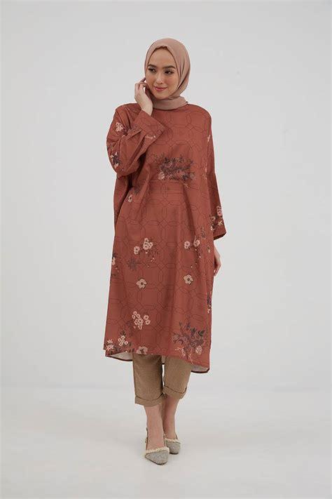 sell lubna tunic terracotta purukambera hijabenkacom