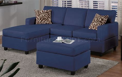 navy microfiber sofa navy microfiber plush casual small sectional sofa w ottoman