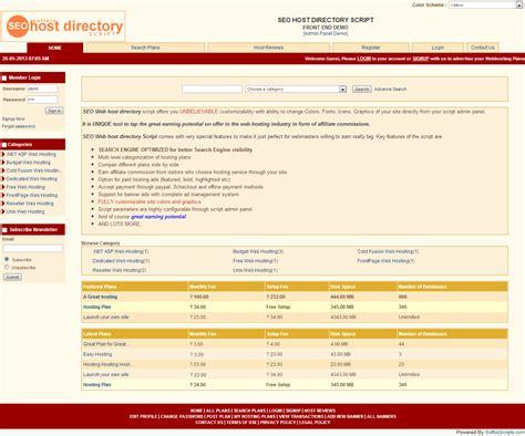 Seo Host Directory Script  Website Builder Software Mac & Pc