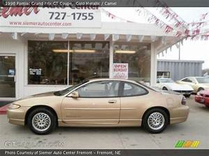 Gold Metallic - 1998 Pontiac Grand Prix Gt Coupe