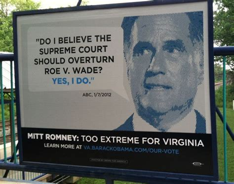 obama campaign targets romney  wanting roe overturned