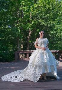 personal loss inspires chesapeake designer39s latest entry With toilet paper wedding dress 2017